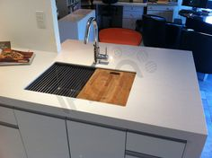 Ikon Sink Station by Ikon Kitchen Benches, Kitchen Sink, Double Bowl Sink, Kitchen Planner, Small Sink, Sound Proofing, Declutter, Ikon, Kitchen Ideas