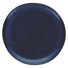 OLMO Dark blue speckled dinner plate 27cm