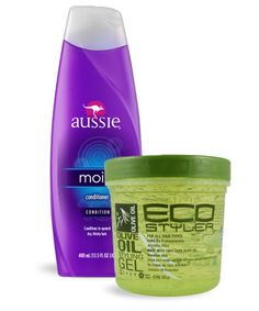 Mix leave-in conditioner with gel, and voilà: You've suddenly got cream gel without paying for a special formula