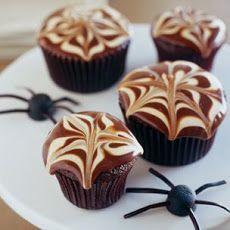 Creepy Crawler Halloween Cupcakes Recipe