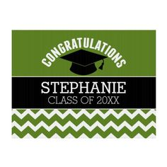 Shop Congratulations Graduate - Red Black Graduation Sign created by MarshEnterprises. Graduation Yard Signs, Custom Yard Signs, Lawn Sign, Congratulations Graduate, Sign Display, Advertising Signs, Custom Buttons, Hand Warmers, Create Yourself