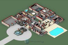 Modern 5 Bedroom House Plans and Home Designs | NethouseplansNethouseplans