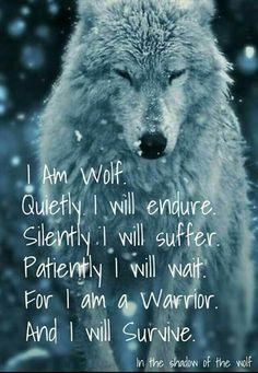 I endure.