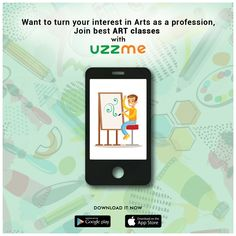 Passionate towards Arts and love to join art classes in your Free time? We made it easy for you. Just find the right institutes who can provide the classes in your comfortable time and join with ease. Enquire now on Uzzme app. Free Time, Arts And Crafts, Join, App, How To Make, Time Out, Apps, Art And Craft, Crafts
