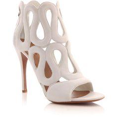 #WhiteGlamour shoes