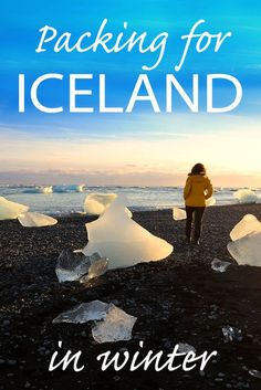 What to pack for Iceland in winter. Clothing, shoes, and other items that will make your winter trip more enjoyable.