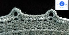 how to crochet button loop