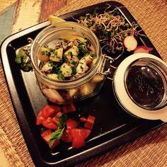 Insalatina tiepida di polpo e patate al profumo di basilico  www.gigliopresent.it Insta giglio_present FB giglio Present