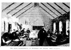 The Penal Establishment at Pentridge - The Tailors' Shop 1867