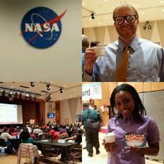 NASA ice cream social