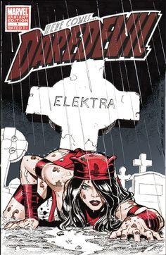 Elektra - sketch cover - Sean Chen