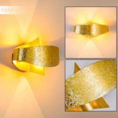 Padua Applique LED Oro, 2-Luci Aluminium, Modern, Applique, Wall Lights, Indoor, Lighting, Gold, Design, Young Living
