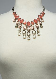LYDELL NYC Teardrop Statement Necklace