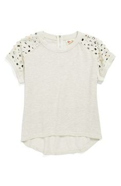 Kiddo Short Sleeve Sweater (Big Girls) | Nordstrom