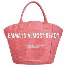 #EMMA she will be ready on September. In black and this lovely pink visit @ RAISHU.com
