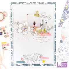 An Eye-catching Floral Layout | Studio | Bloglovin'