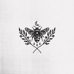 bee tattoo So I said, I will bring you up out of the affliction of Egypt to the land of the Canaanite and the Hittite and the Amorite and the Mini Tattoos, Body Art Tattoos, Small Tattoos, Cool Tattoos, Tatoos, White Tattoos, Amazing Tattoos, Piercings, Piercing Tattoo