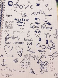 Imagem de art, magic, and tattoo Hand Doodles, Easy Doodles Drawings, Sad Drawings, Doodle Art Drawing, Mini Drawings, Pretty Drawings, Drawing Quotes, Pencil Art Drawings, Cool Art Drawings
