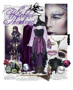 """""""Witchful Thinking"""" by hikari-ice-angel ❤ liked on Polyvore featuring Mark Roberts, Michael Kors, Yves Saint Laurent and Jeffrey Campbell"""