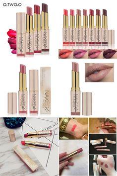 [Visit to Buy] O.TWO.O Beauty Makeup Lipstick Popular Colors Waterproof Long Lasting Lip Kit Matte Lip Makeup #Advertisement