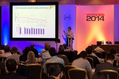 Paul Haxell, chair of the IOSH Construction Group and Health, Safety and Environment Director at Bovis Homes Ltd, presented on the application of research in the construction industry at the 7th international conference of WOS.net, in Glasgow, from September 30 to October 3 2014.
