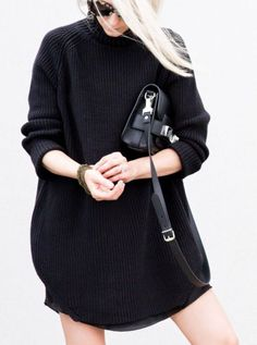 the secrets of the little black sweater dress