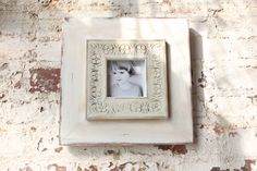 Whitewash 4x4 Frame Handmade with Love that you can give with love!