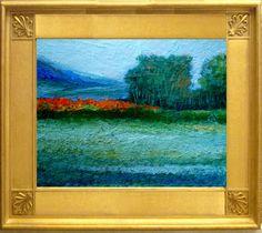 "IMPRESSIONIST PLEIN AIR LANDSCAPE PAINTING (8""X10"") #Impressionism"
