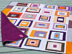 a project linus quilt, done with the Inspire circle of the do. Good Stitches quilting bee