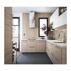 BROKHULT Porte - 40x80 cm - IKEA - Surement le choix FINAL pour les façades basses : Noyer clair