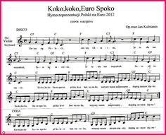 Koko,koko,Euro Spoko-łatwe nutki do zagrania!