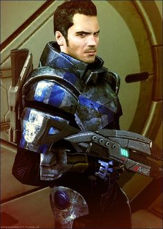 kaidan alenko # mass effect quite possibly the only guy I have a huge crush on that isn't real :p