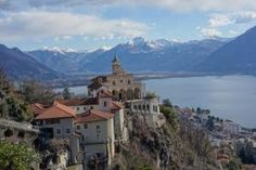 In the village, Orsalina the Maddona del Sasso has one of the best views!