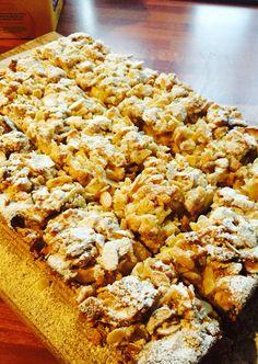 Apple & Almond Traybake moist and tasty!