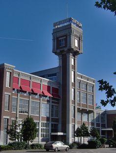 Watertoren Spinnerij Almelo 1914 - Lijst van watertorens in Nederland - Wikipedia