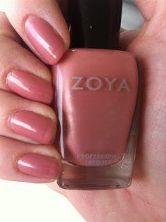 "zoya ""addison"" - beigey mauve with light shimmer"