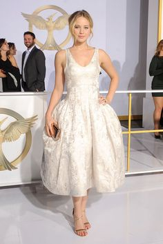 Hunger Games LA Premiere Fashion - Big Skirts Were the Way at 'The Hunger Games: Mockingjay Part 1' LA Premiere - Elle