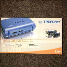 Trendnet 2 Port USB KVM Switch Kit - Mercari: Anyone can buy & sell