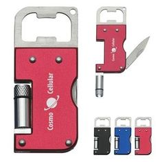 Wholesale Bottle Openers - 3 in 1 Multi-Function Tool