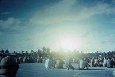 USA. Operation Dominic. Shot QUESTA. 670 kilotons. May 2, 1962. Christmas Island
