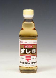 Mizkan Sushi Seasoning - makes sushi making as easy as 1-2-3!