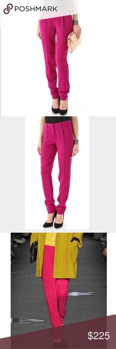 ❗️Diane von Furstenberg Runway Pants MSRP $358! ❗️Diane von Furstenberg Designer Runway Pants. As seen on the NYC DVF runway! Size 6 retails $358. In like new condition! Feel free to make an offer! I'm giving to the first reasonable offer I receive & give great bundle deals! Moving Clearout Sale--all must go! ;-) Diane von Furstenberg Pants