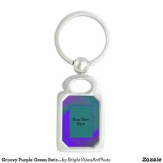 Shop for customizable Swirl keychains on Zazzle. Buy a metal, acrylic, or wrist style keychain, or get different shapes like round or rectangle! Green Gifts, Green Colors, Stationery, Personalized Items, Abstract, Purple, Summary, Colors Of Green, Paper Mill
