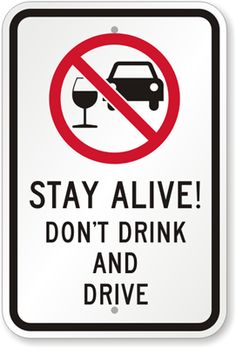 Happy 2014!  don't drink and drive signs - Google Search