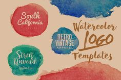 Make your works fresh and joyful with the new freebie Watercolor Logo Free Templates Pack. This amazing freebie contains 3 eye catching watercolor logo templates. All templates come in high-resolution files. They can be used freely for both personal and professional projects. This pack is also perfect for new font presentation and make your design stand out from the crowd!