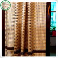 Customized folding bamboo patio door blinds
