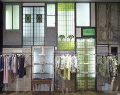 Circolo Marras, Antonio Marras Showroom located in Zona Tortona, Milan. This area is the reference point for agents, buyers and journalist. This is also where seasonal sales campaigns take place and where the collections are presented to the press.