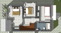 Small Villa House Plans Lovely Small Home Design Plan 5 with 3 Bedroom 3d House Plans, Beach House Plans, Bedroom House Plans, Dream House Plans, Small House Plans, Duplex House Design, Simple House Design, Minimalist House Design, Minimalist Home