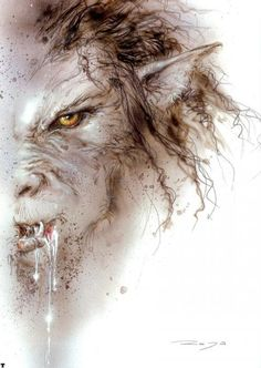 "Skinwalker - -a malevolent witch capable of transforming itself into a wolf, coyote, bear, bird, or any other animal. The witch might wear the hide or skin of the animal identity it wants to assume, and when the transformation is complete, the human witch inherits the speed, strength, or cunning of the animal whose shape it has taken.It uses mind control to make their victims do things to hurt themselves & even end their lives. Skinwalkers have the power to steal the ""skin"" or body   Luis…"