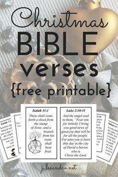 Christmas Bible Vers